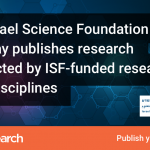 F1000Research launches the Israel Science Foundation gateway